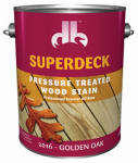 Duckback DP-2016-4 GAL Gold Oak Pressure Treated Decking Stain