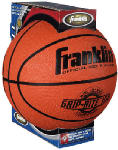 Franklin Sports Industry 7107 Grip-Rite Size 7 Rubber Basketball