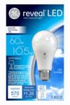 G E Lighting 45656 Reveal LED Light Bulb, 570 Lumens, 11-Watts