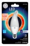 G E Lighting 37863 LED Light Bulb, White, Dimmable, 300 Lumens, 4-Watt
