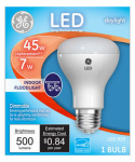G E Lighting 34305 LED Light Bulb, R20, Daylight, 7-Watt