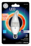 G E Lighting 37865 LED Light Bulb, White, Dimmable, 300 Lumens, 4-Watt