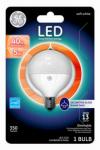 G E Lighting 37892 LED Light Bulb, White, Dimmable, 400 Lumens, 5-Watt
