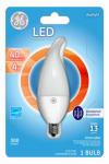 G E Lighting 37937 LED Light Bulb, Daylight, Dimmable, 300 Lumens, 4-Watt