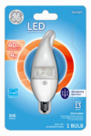 G E Lighting 37938 LED Light Bulb, Clear, Dimmable, 300 Lumens, 4-Watt