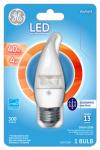 G E Lighting 37942 LED Light Bulb, Daylight, Dimmable, 300 Lumens, 4-Watt