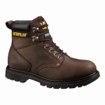 Cat Footwear P89586 11.5M Men's Second Shift Steel-Toe Leather Boot, Medium, Size 11.5