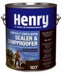 Henry HE107046 Asphalt Emulsion, 1-Gal.