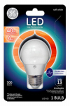 G E Lighting 37924 LED Light Bulb, White, Dimmable, 300 Lumens, 4-Watt