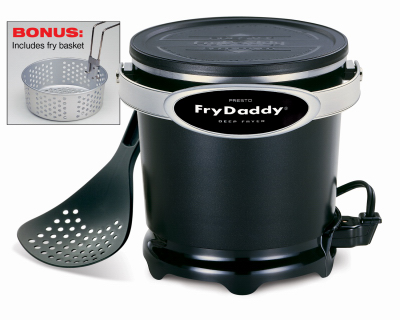 National Presto Ind 05425 Fry Daddy Plus Deep Fryer - Quanti