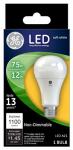 G E Lighting 65721 LED Light Bulb, Soft White, 1,100 Lumens, 12-Watt