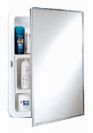 Zenith Products X311 Medicine Cabinet, Stainless-Steel Frame, Swing-Door