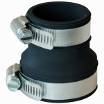 Fernco PDTC-150 1-1/2-Inch or 1-1/4 Drain Trap Connector