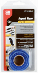 Gardner Bender HTP-1010BLU Self-Sealing Silicone Repair Tape, Blue, 1-In. x 10-Ft.