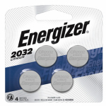 Eveready Battery 2032BP-4 3V Li Coin Battery 4PK