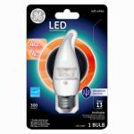 G E Lighting 37888 LED Light Bulb, Clear, Dimmable, 300 Lumens, 4-Watt