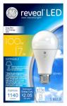 G E Lighting 45658 Reveal LED Light Bulb, Dimmable, 1,140 Lumens, 17-Watt