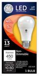 G E Lighting 61956 LED Light Bulb, Soft White, 450 Lumens, 5-Watt