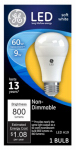 G E Lighting 61962 LED Light Bulb, Soft White, 800 Lumens, 9-Watt