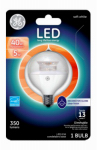 G E Lighting 37180 LED Light Bulb, Clear, Dimmable, 300 Lumens, 5-Watt