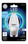 G E Lighting 37265 LED Light Bulb, 7W, White, BM Shape