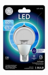 G E Lighting 38274 LED Light Bulb, Soft White, Dimmable, 500 Lumens, 7-Watt