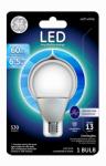 G E Lighting 38276 LED Light Bulb, White, Dimmable, 530 Lumens, 7-Watt