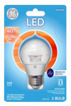 G E Lighting 39740 LED Light Bulb, Daylight Clear, Dimmable, 300 Lumens, 4-Watt