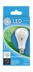 G E Lighting 65722 LED Light Bulb, Daylight, 1100 Lumens, 12-Watt