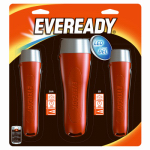 Eveready Battery EVGPM115H LED Flashlights, 3-Pk.