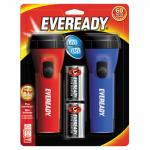 Eveready Battery EVEL152S LED Economy Flashlight, 2-Pk.