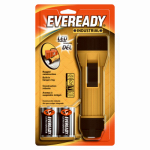 Eveready Battery EVINL25S LED Industrial Flashlight, Yellow