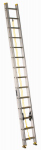Louisville Ladder AE3228 28-Ft. Extension Ladder, Aluminum, Type I, 250-Lb. Duty Rating