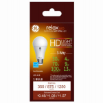 G E Lighting 68415 Relax Heavy Duty LED 3-Way Light Bulb, White, Dimmable