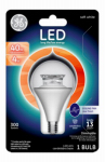G E Lighting 63181 LED Light Bulb, Clear, Dimmable, 300 Lumens, 4-Watt