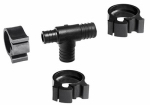 "Flair-It Central 30778 PEXLock Reducing Tee 1"" x 3/4"" x 1"""
