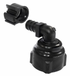 "Flair-It Central 30811 PEXLock Swivel Elbow 1/2"" x 3/4"" FPT SWV"