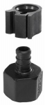 "Flair-It Central 30841 PEXLock Coupling 1/2"" x 1/2"" FPT"