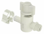 "Flair-It Central 30888 PEXLock Crimp Valve Straight 1/2"" x 3/8"" Compression"
