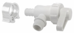 "Flair-It Central 30893 PEXLock Crimp Angle Valve 1/2"" x 3/8"" Compression"
