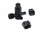 "Flair-It Central 30912 PEXLock Bypass Valve 1/2"" x 1/2"" MPT x 1/2"""