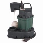 Flint & Walling/Star Water 024489 Submersible Sump Pump, Cast Iron, 1/2-HP