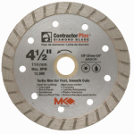 "Mk Diamond Products 166999 4-1/2"" Turbo Rim Blade"