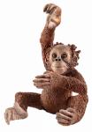 Schleich North America 14776 BRN Young Orangutan