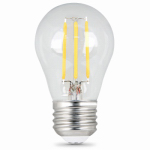 Feit Electric BPA1540N/827/LED/2 2PK4.5W SW Int Fil Bulb