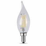 Feit Electric BPCFC40/827/LED/2 2PK 4.5W Flame Fil Bulb