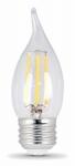 Feit Electric BPEFC40/827/LED/2 2PK 4.5W Decorator or Decoration Fil Bulb