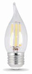 Feit Electric BPEFC60/827/LED/2 2PK 6W SW Fil LED Bulb