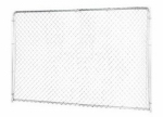 Stephens Pipe & Steel DKS00804 8 x 4-Ft. Extension Panel, Silver Series