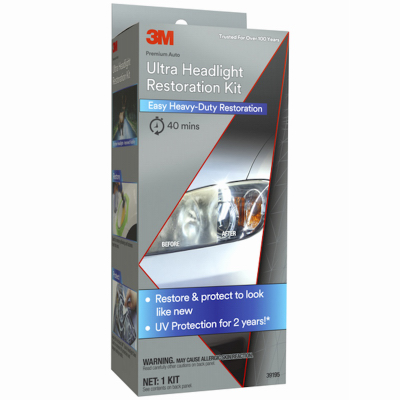 39195 Ultra Headlight Restoration Kit - Quantity 1